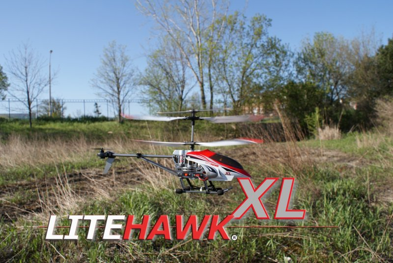 Image 0 of LITEHAWK XL MINI HELICOPTER (APROX 12