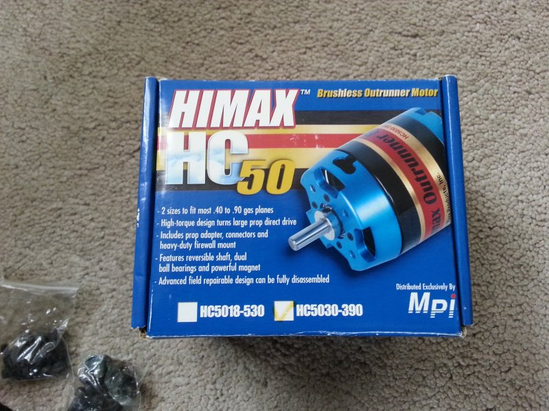 Image 1 of Himax Brushless Outrunner Motor HC5030-390