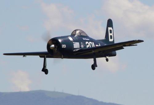 Image 3 of Giant Scale F8F Bearcat