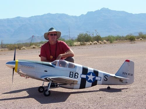 Image 0 of Giant Scale P-51B Mustang 96