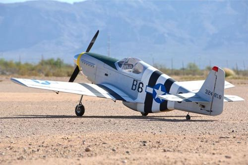 Image 1 of Giant Scale P-51B Mustang 96