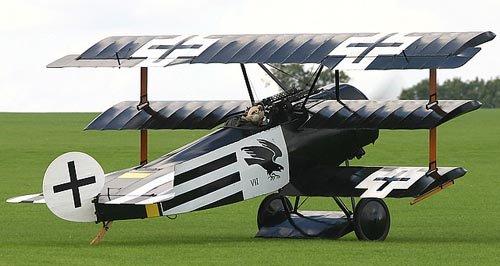 Image 2 of MONSTER SCALE Fokker DR-1