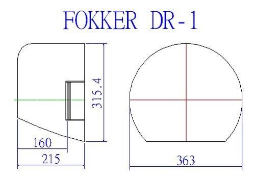 Image 5 of MONSTER SCALE Fokker DR-1