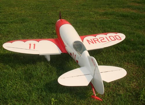 Image 2 of Giant Scale GEE BEE 87inch Red