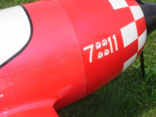Image 5 of Giant Scale GEE BEE 87inch Red