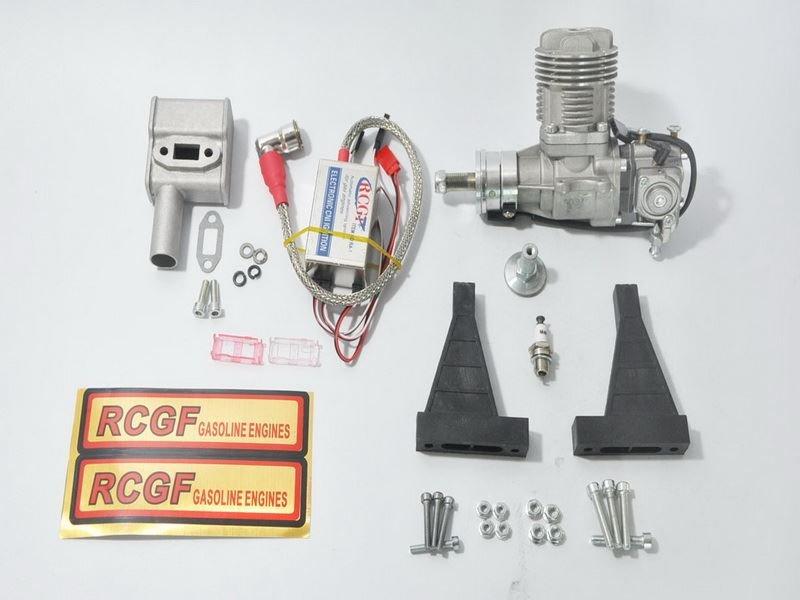 Image 4 of RCGF 15CC Gas Engine Beam Mount Version