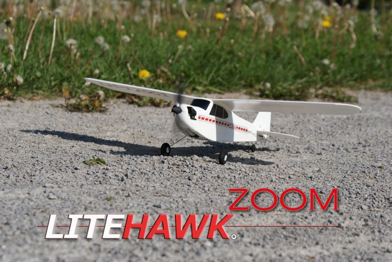 Image 0 of LITEHAWK ZOOM AIRPLANE - 11.8