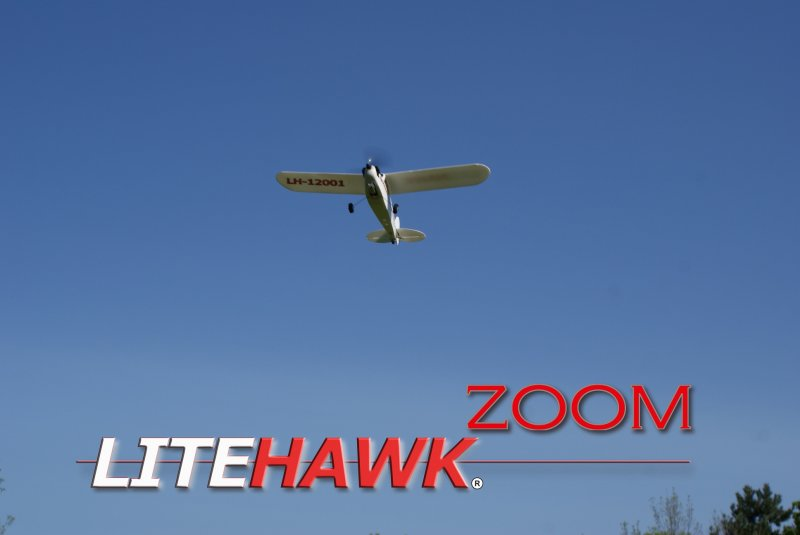 Image 1 of LITEHAWK ZOOM AIRPLANE - 11.8