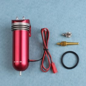 Image 0 of CNC Processed Electric Fuel Pump-Red 7.2-12V For Gas and Nitro