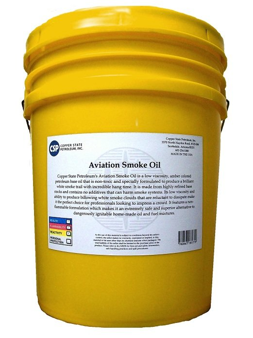 Image 0 of R/C Aviation Smoke Oil 5 gallon pail