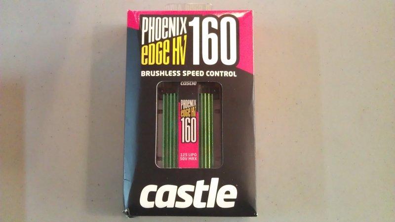 Image 0 of Castle Creations Phoenix ICE2 HV160 160A Brushless ESC, 50V