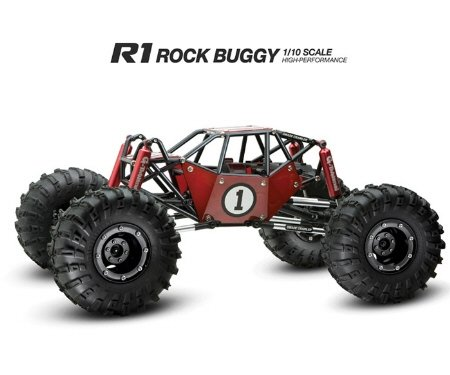 Image 0 of R1 ARTR ROCK CRAWLER BUGGY (RED VERSION)