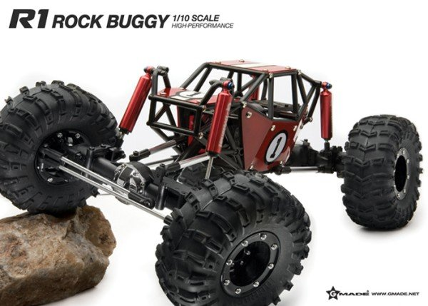 Image 1 of R1 ARTR ROCK CRAWLER BUGGY (RED VERSION)
