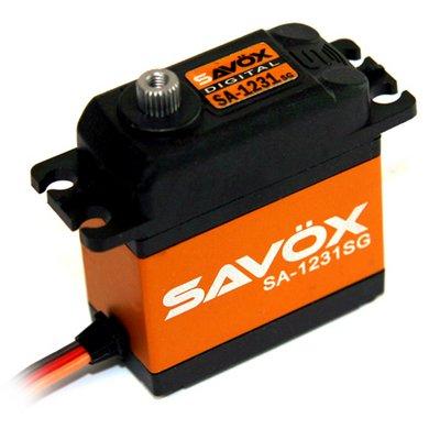 Image 0 of Savox 1231SG CORELESS DIGITAL SERVO 0.14/444.4 @6V