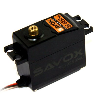 Image 0 of Savox 0253MG STD DIGITAL SERVO 0.15/83.3 @6V