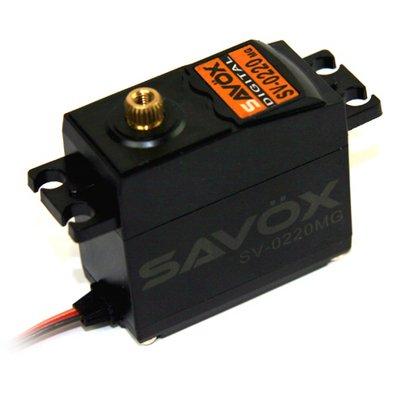 Image 0 of Savox 0220MG HIGH VOLTAGE STD DIGITAL SERVO 0.13/111.1 @7.4