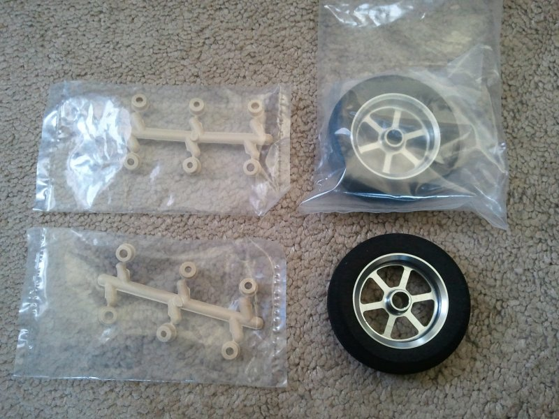 Image 0 of Light Foam Wheels great for F3A w/CNC aluminum hub