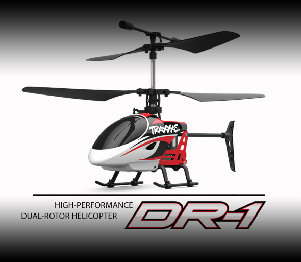 Image 0 of Traxxas DR-1 COAXIAL DUAL ROTOR HELICOPTER RTF 2.4GHZ RADIO