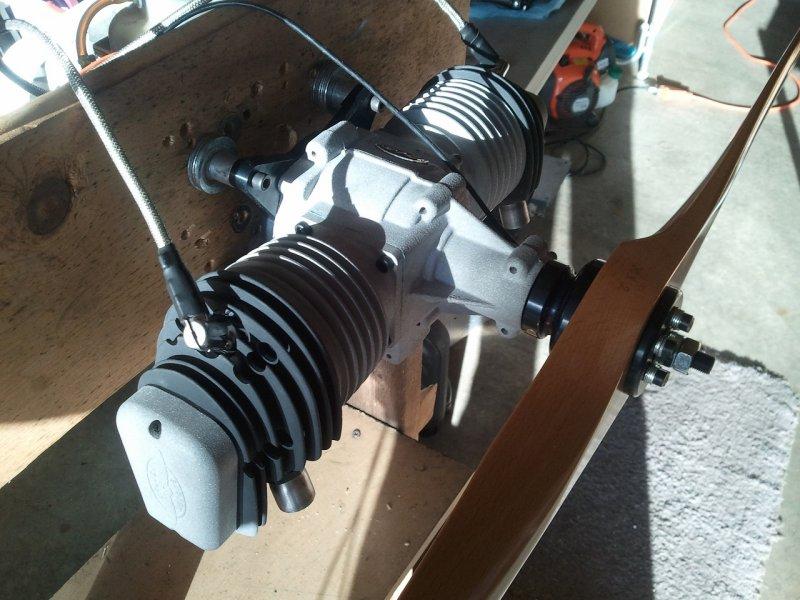 Image 2 of Valach VM 210 B2-4T Gasoline engine 4-stroke