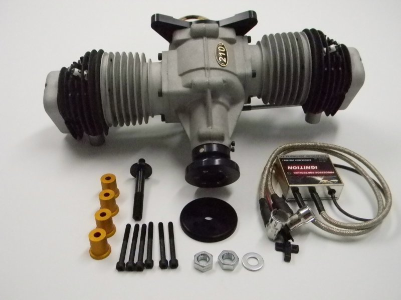 Image 5 of Valach VM 210 B2-4T Gasoline engine 4-stroke