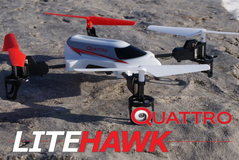 Image 3 of LITEHAWK Quattro Quadcopter