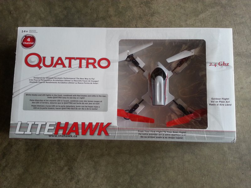 Image 4 of LITEHAWK Quattro Quadcopter