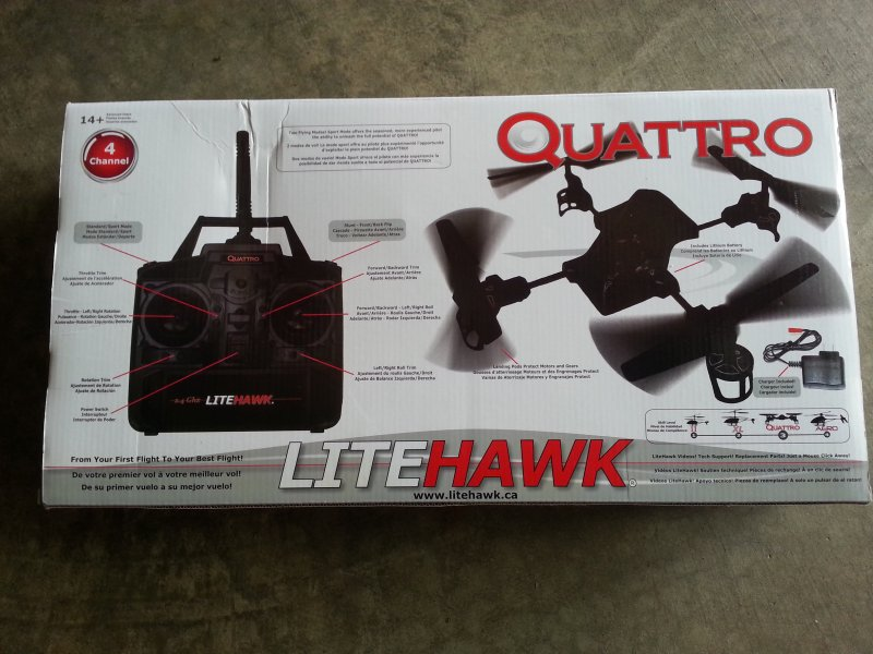 Image 5 of LITEHAWK Quattro Quadcopter