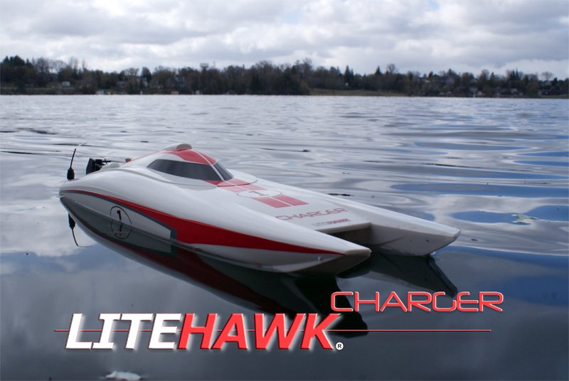 Image 0 of LITEHAWK CHARGER SPEEDBOAT - 2.4 GHZ RADIO READY TO RUN