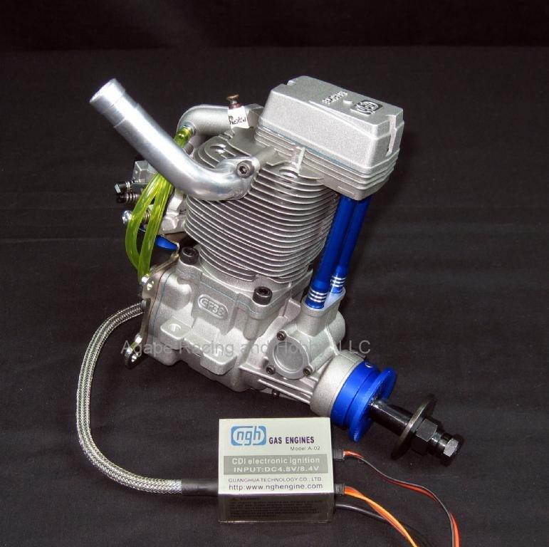 Image 0 of NGH GF38cc 4-stroke gas engine