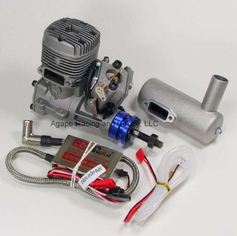 Image 0 of NGH GT17cc gas engine