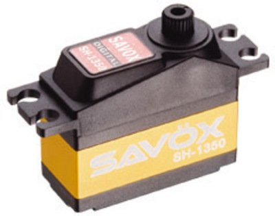 Image 0 of Savox 1350  MINI SIZE CORELESS DIGITAL SERVO .11/63