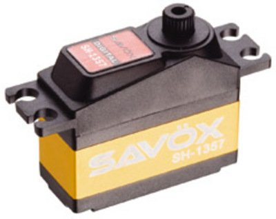 Image 0 of Savox 1357 MINI SIZE CORELESS DIGITAL SERVO .07/34