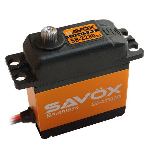 Image 0 of Savox 2230SG  HV BRUSHLESS DIGITAL SERVO TALL .13/583.3 AIRPLANE