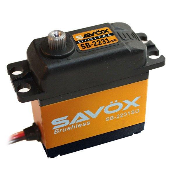 Image 0 of Savox 2231SG  HV BRUSHLESS DIGITAL SERVO TALL .10/555.5 AIRPLANE