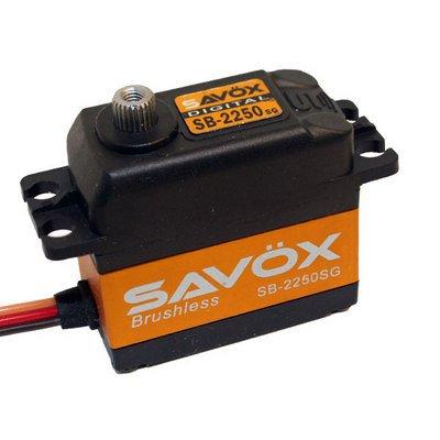 Image 0 of Savox 2250SG  BRUSHLESS DIGITAL SERVO 6V .15/347 STANDARD SIZE