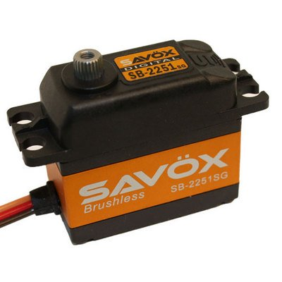 Image 0 of Savox 2251SG  BRUSHLESS DIGITAL SERVO 6V .085/208 STANDARD SIZE