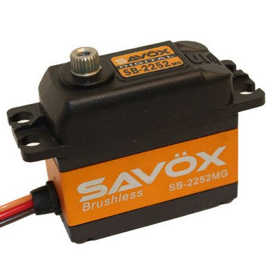 Image 0 of Savox 2252MG  BRUSHLESS DIGITAL SERVO 6V .045/69.4 STANDARD SIZE