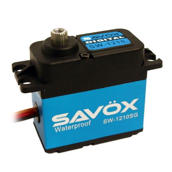 Image 2 of Savox 1210SG WATERPROOF CORELESS DIGITAL SERVO .15/277.7 ALUMINUM CASE