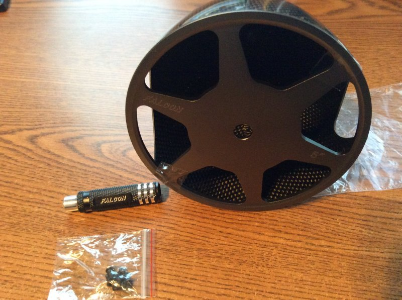 Image 1 of Falcon Carbon Fiber Spinner 5