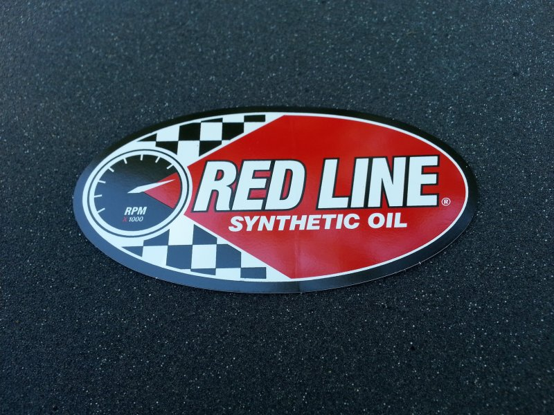 Image 1 of Red Line Synthetic racing oil (1) 16oz bottle