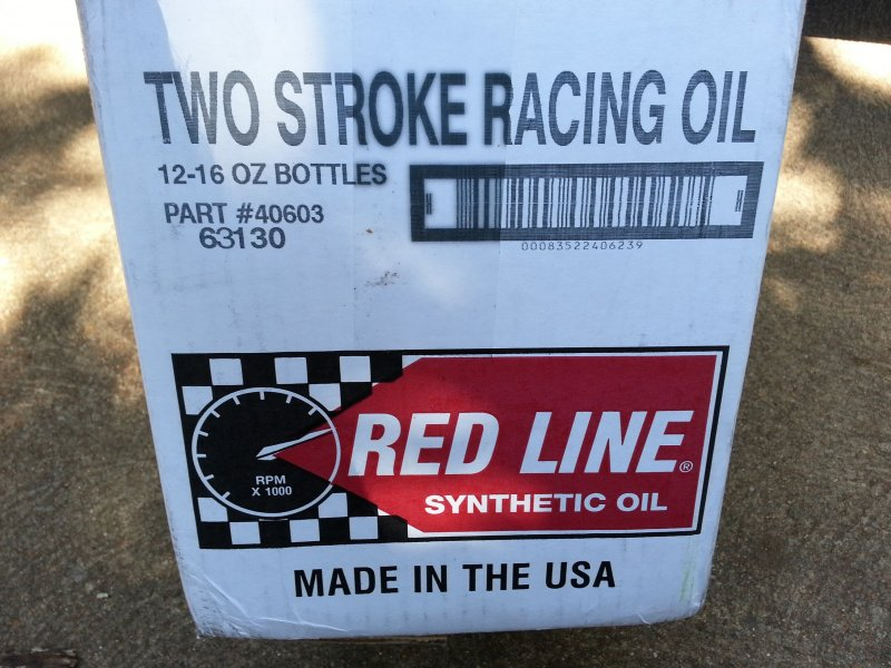 Image 0 of Red Line Synthetic racing oil