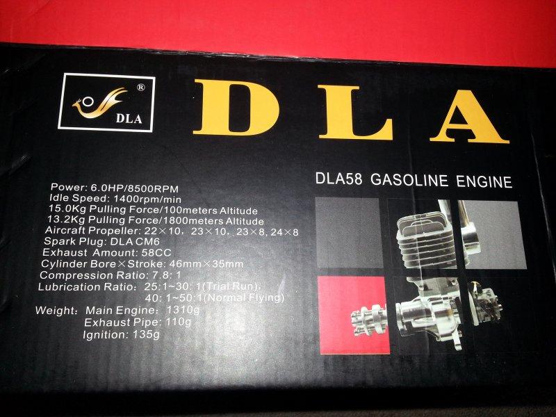 Image 5 of DLA58cc Gasoline aircraft engine New design