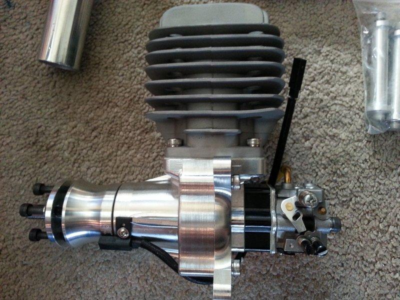 Image 1 of DLA58cc Gasoline aircraft engine New design