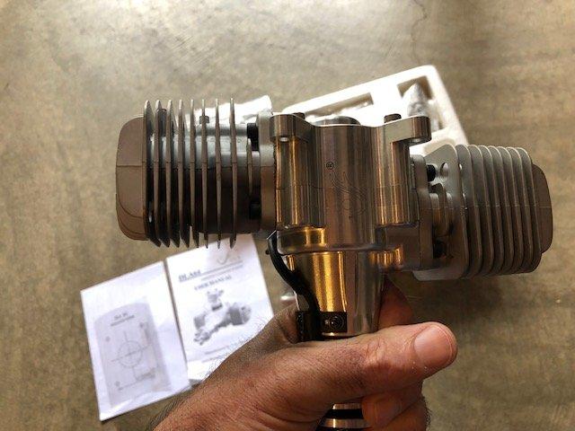 Image 2 of DLA 64cc Twin Cylinder Gasoline aircraft engine