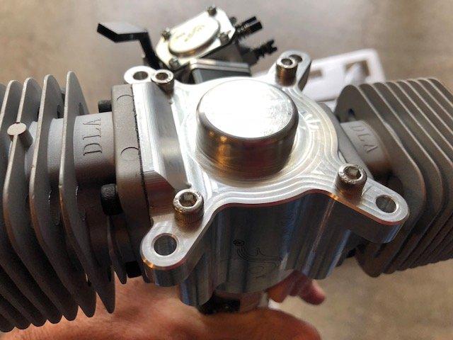 DLA 64cc Twin Cylinder Gasoline aircraft engine