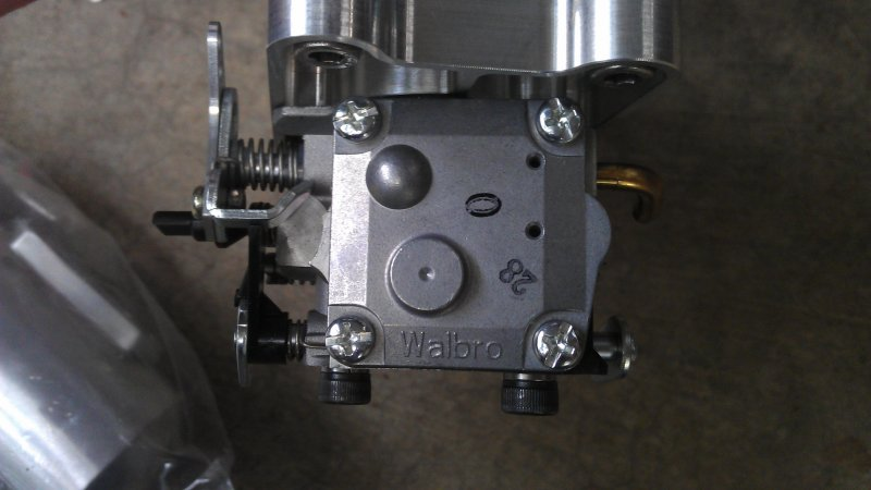 Image 2 of DLA 116 Gasoline aircraft engine