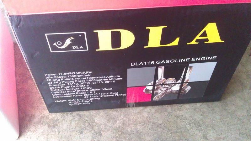 Image 3 of DLA 116 Gasoline aircraft engine