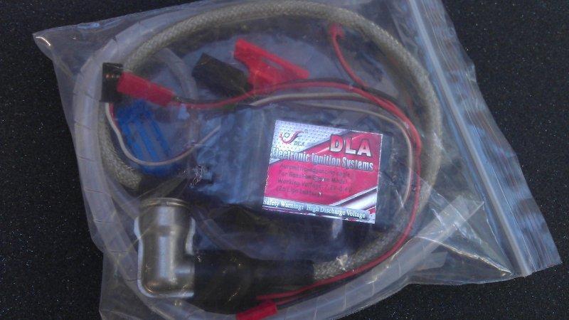 Image 1 of DLA High voltage Electronic Ignition  CM-6 plug cap 7.2v - 8.4 Volt Lipo
