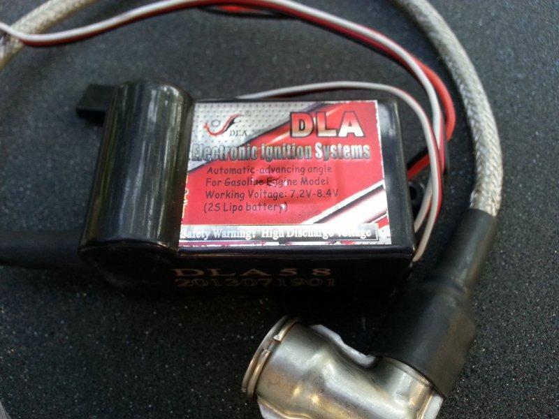 Image 0 of DLA High voltage Electronic Ignition  CM-6 plug cap 7.2v - 8.4 Volt Lipo
