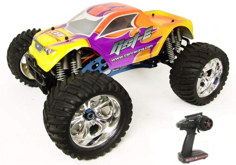 Image 0 of CEN Racing CEG9513 GST-E 1/8 Brushless 4WD Monster Truck w/ 2.4GHz Radio